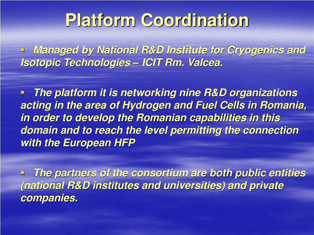 Platform Coordination