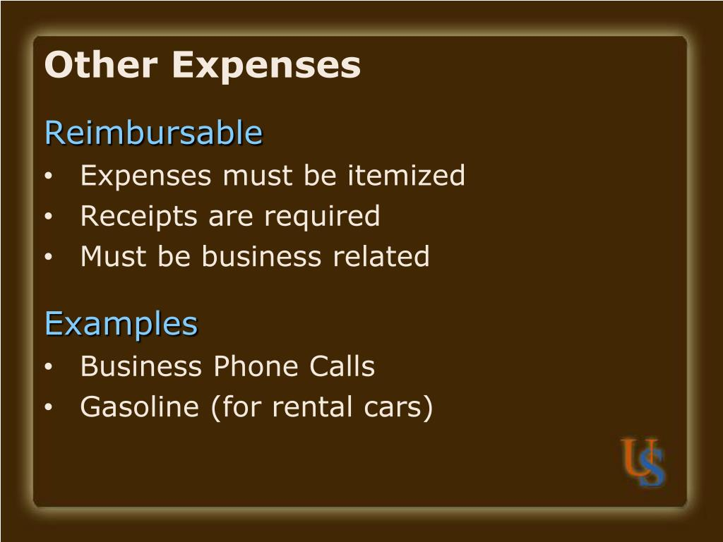 Other Expenses
