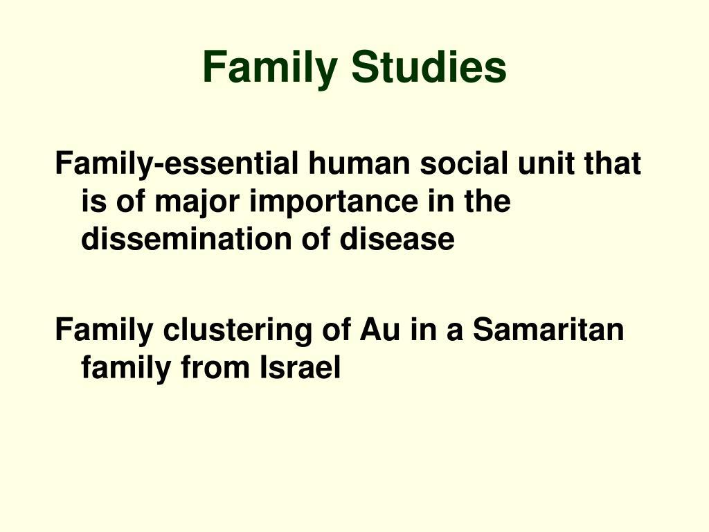 Family Studies