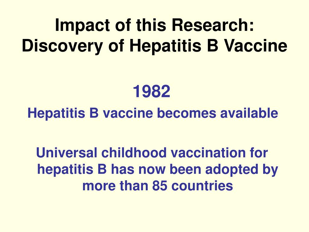 Impact of this Research: