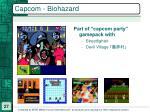 capcom biohazard