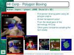 hi corp polygon boxing
