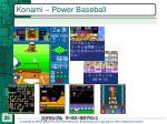 konami power baseball