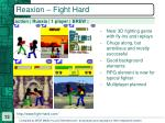 reaxion fight hard