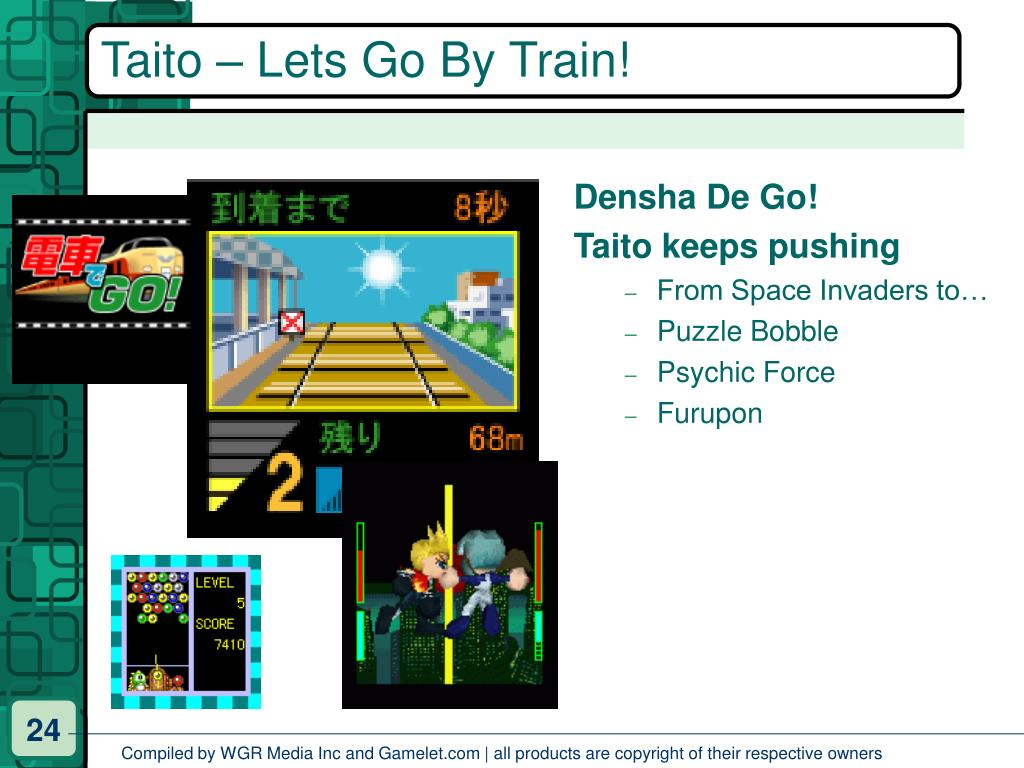 Taito – Lets Go By Train!