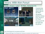 vasara mibii alien pursuit