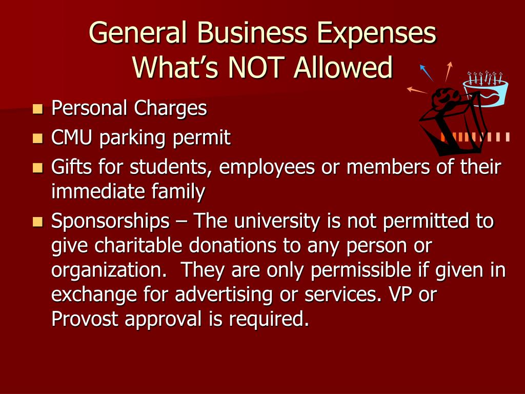 General Business Expenses