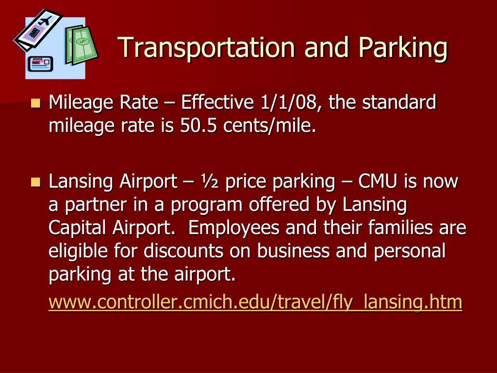 Transportation and Parking