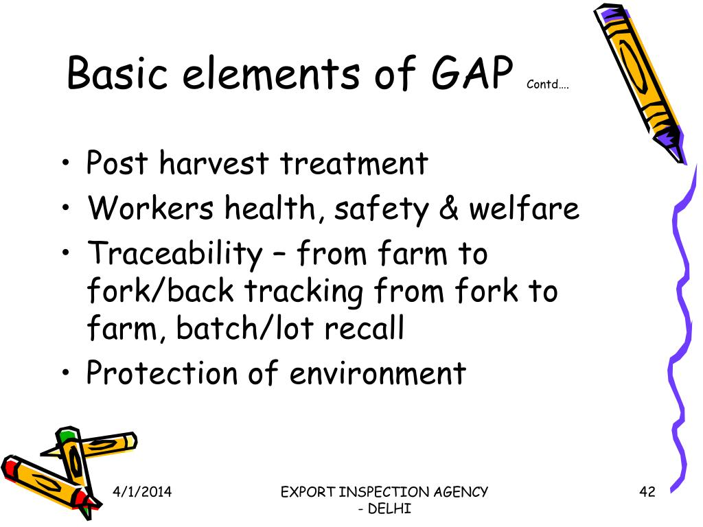 Basic elements of GAP