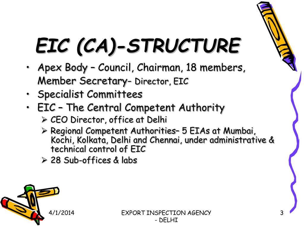EIC (CA)-STRUCTURE