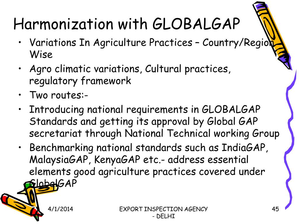 Harmonization with GLOBALGAP