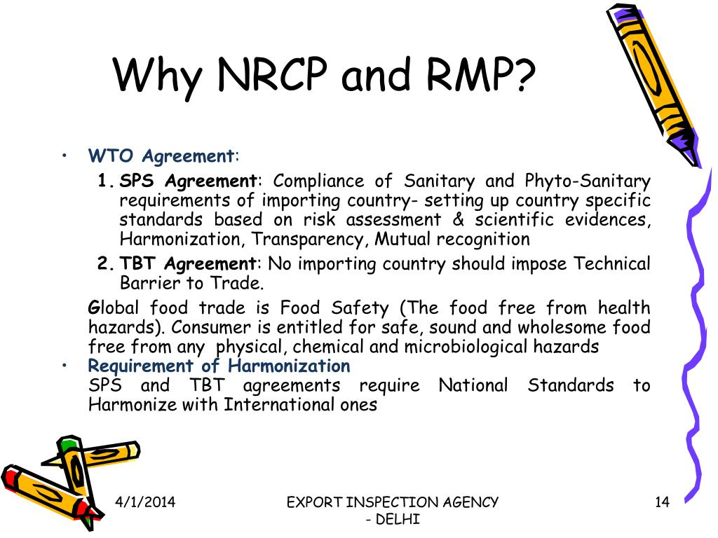 Why NRCP and RMP?