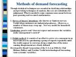 methods of demand forecasting14