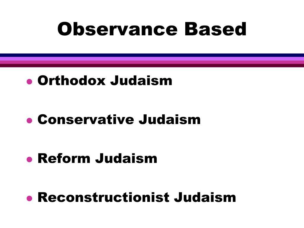 Observance Based