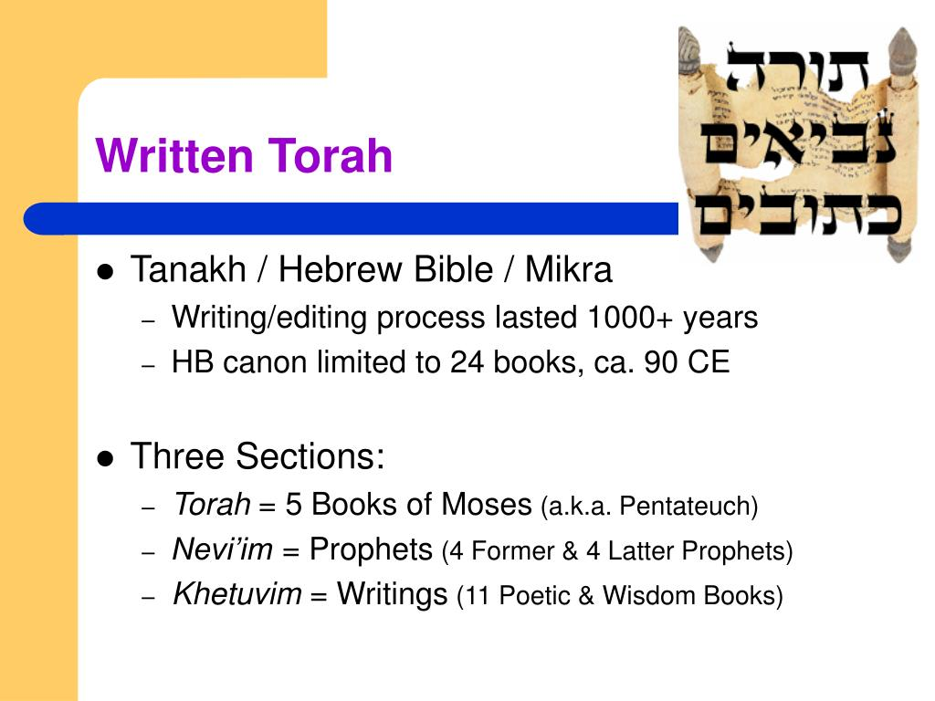 Written Torah