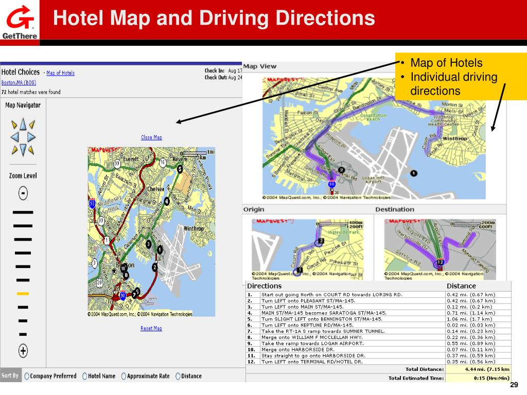 Hotel Map and Driving Directions