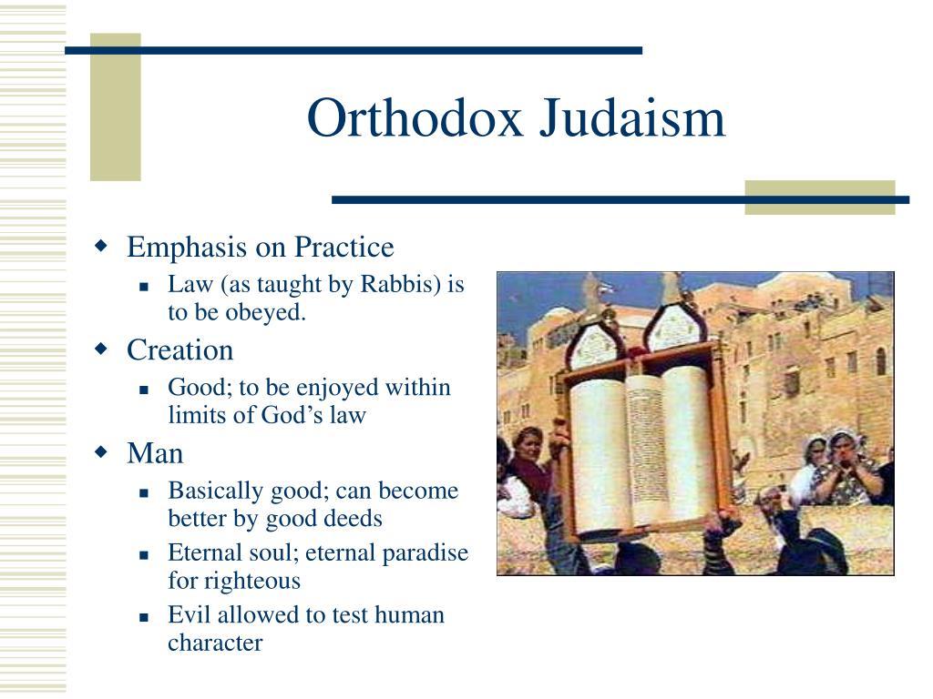 Orthodox Judaism