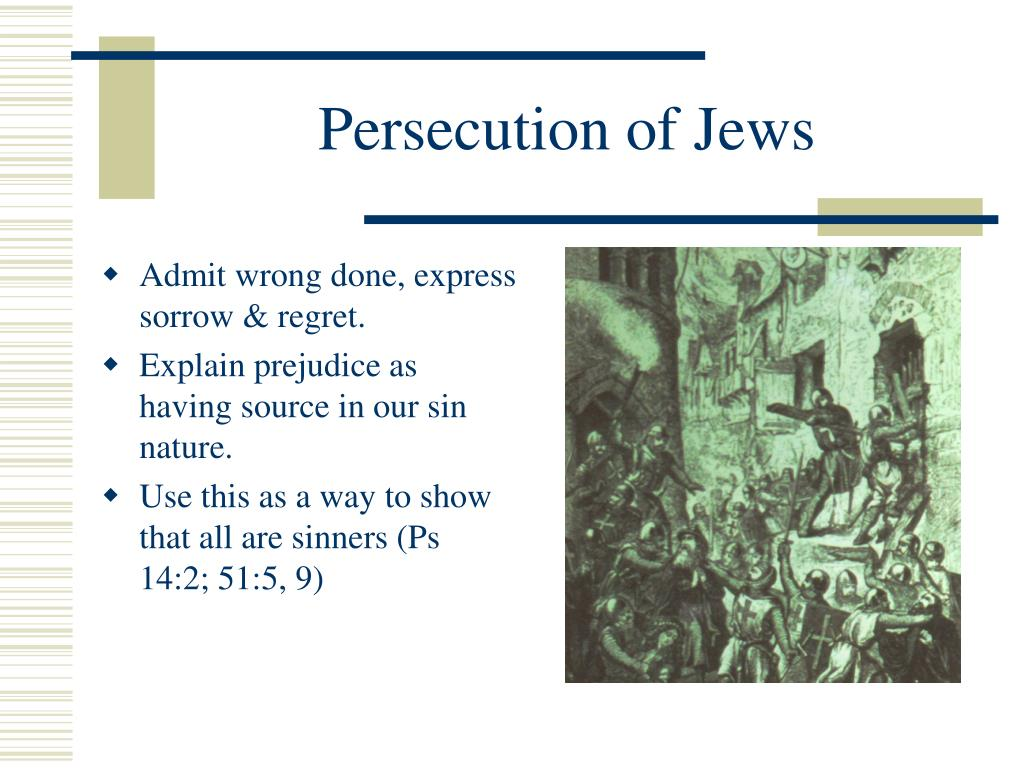 Persecution of Jews