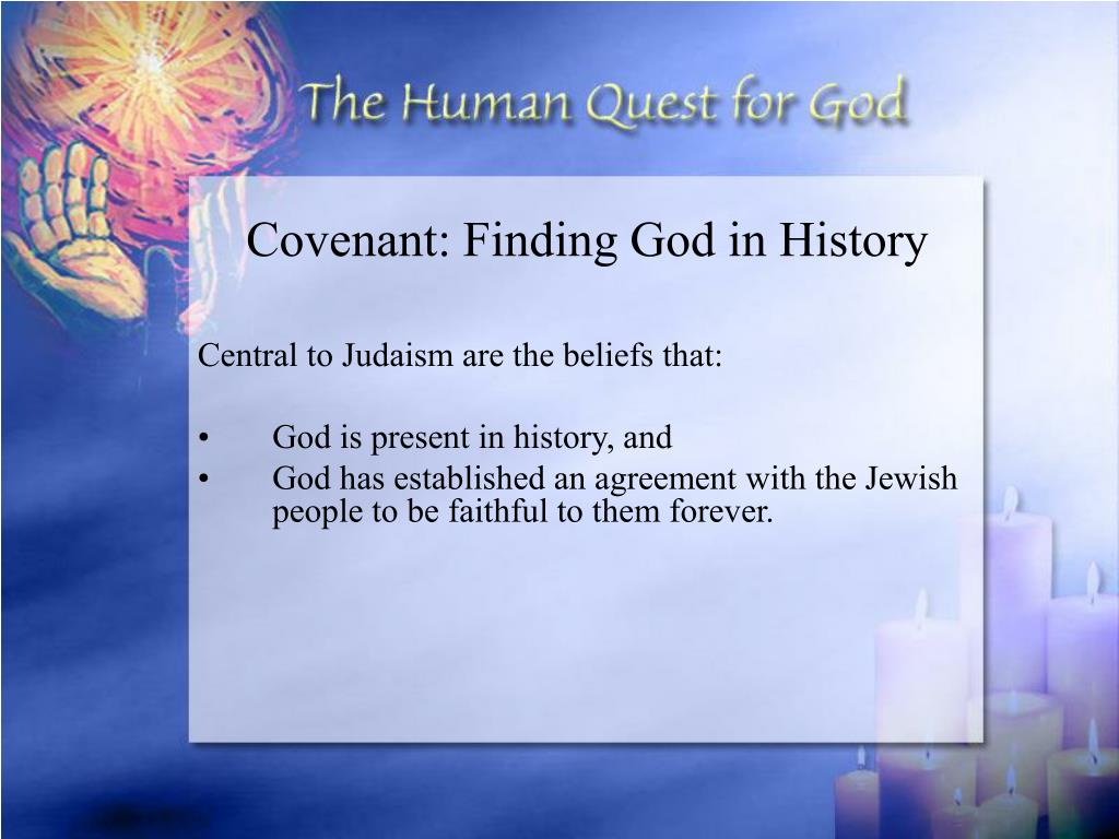 Covenant: Finding God in History