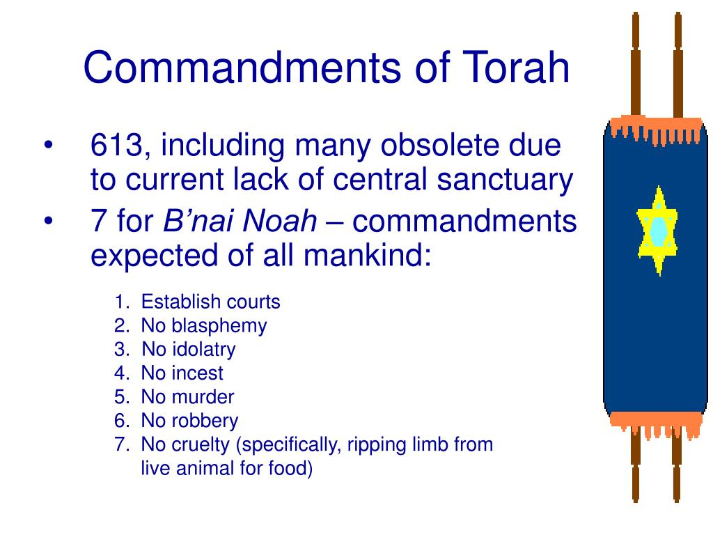 Commandments of Torah