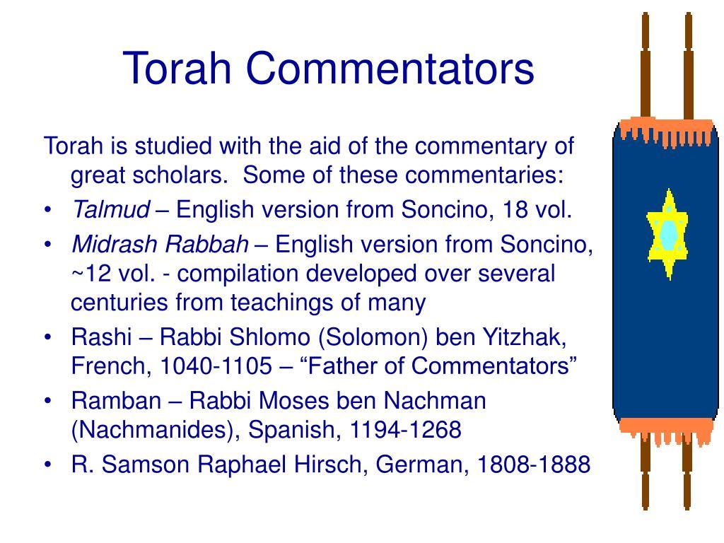 Torah Commentators