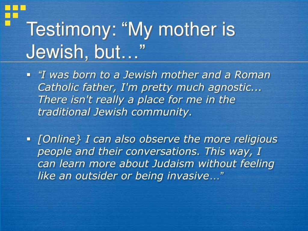 Testimony: