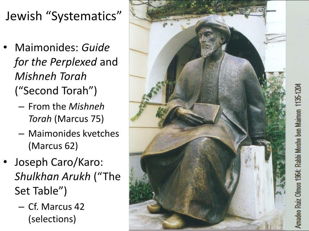"Jewish ""Systematics"""