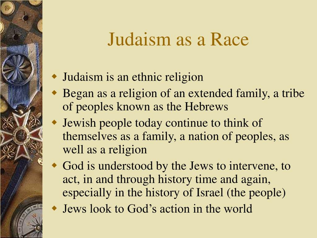 Judaism as a Race
