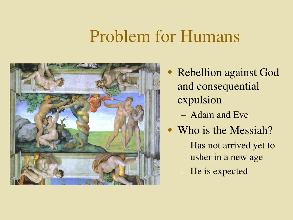 Rebellion against God and consequential expulsion
