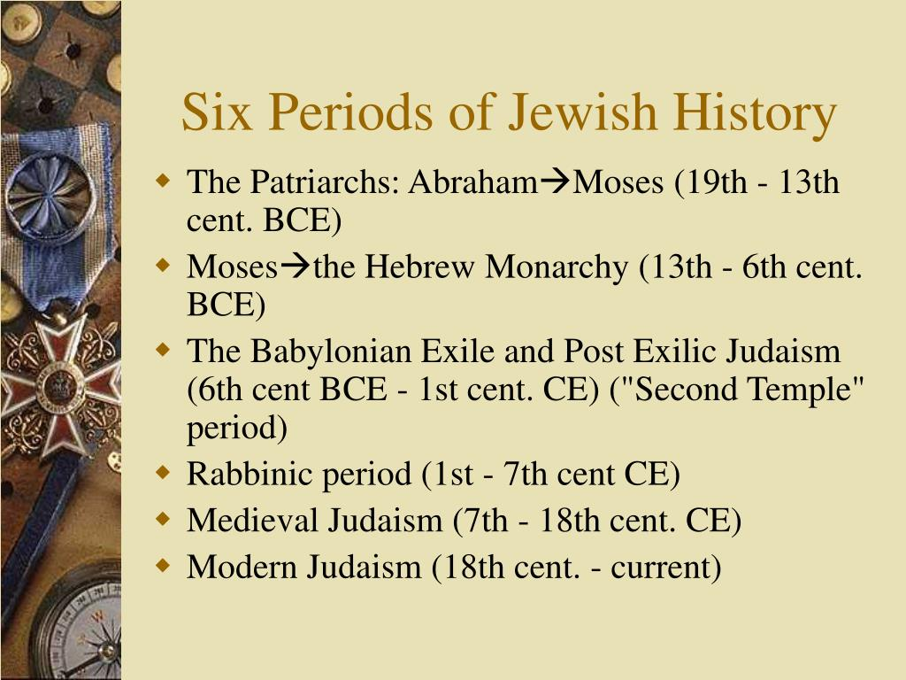 Six Periods of Jewish History