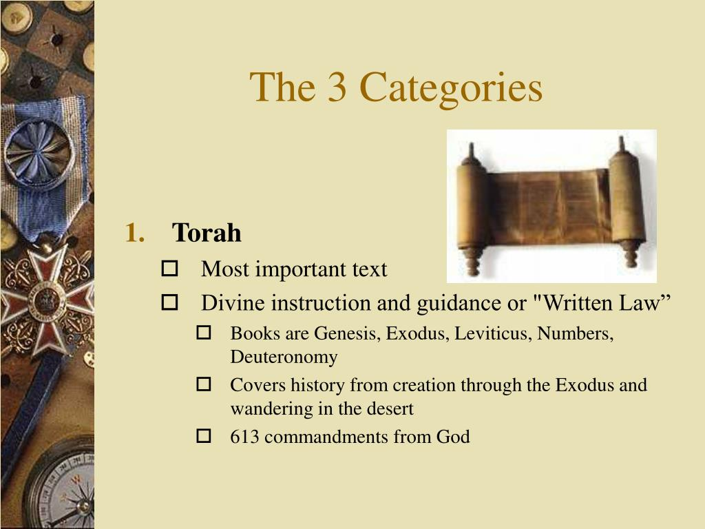 The 3 Categories