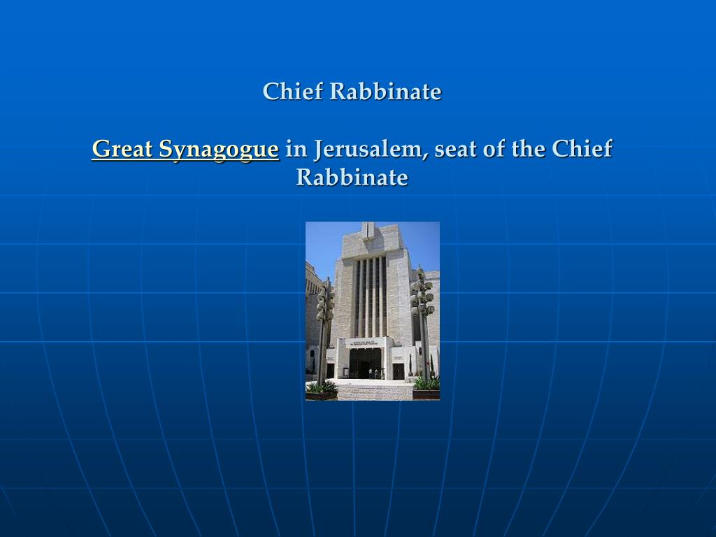 Chief Rabbinate