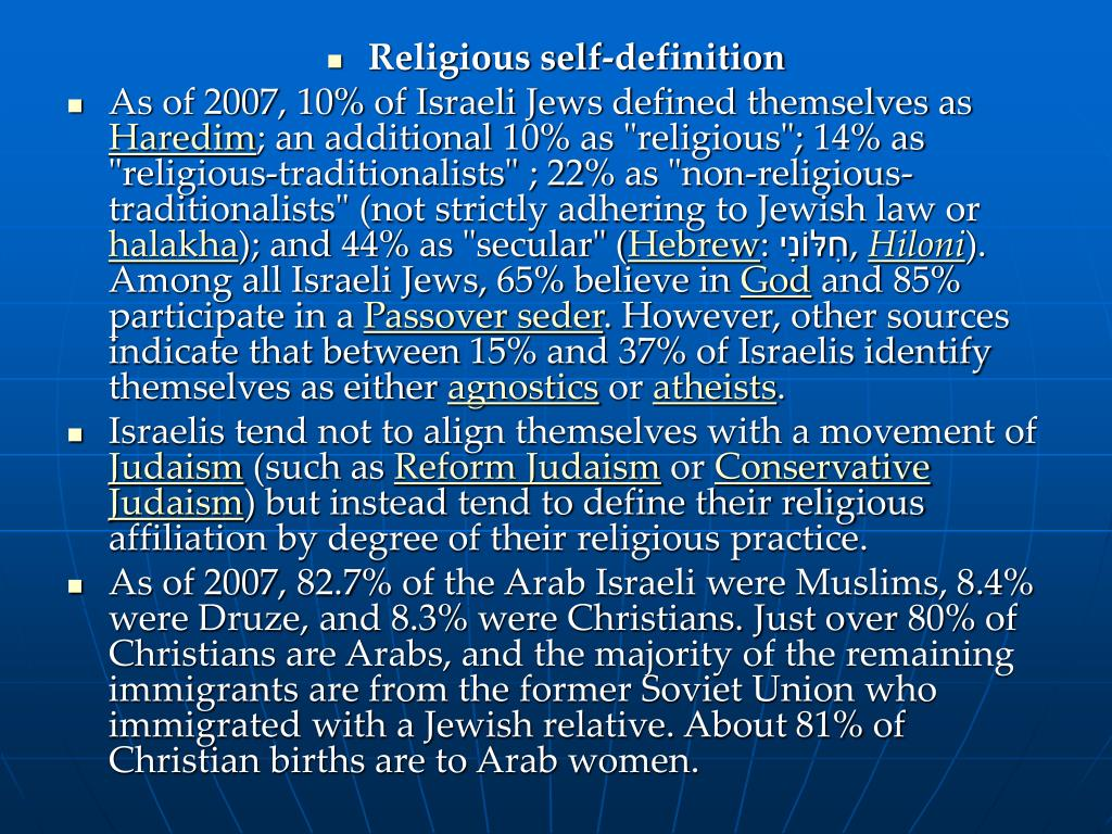 Religious self-definition