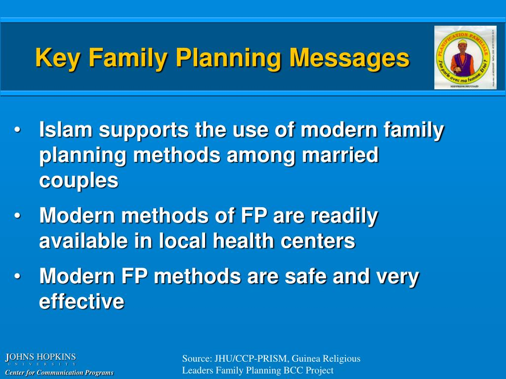 Key Family Planning Messages