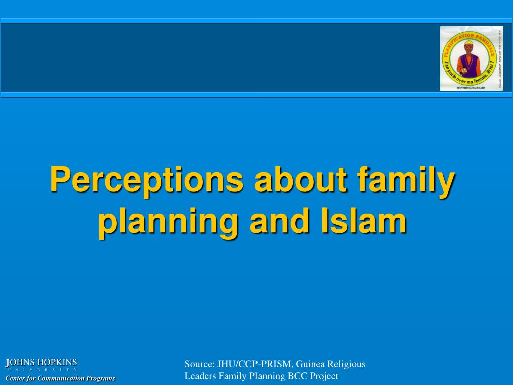 Perceptions about family planning and Islam