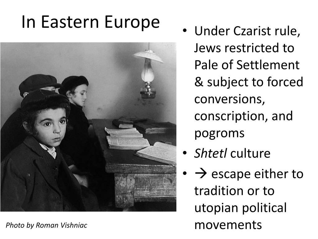 In Eastern Europe