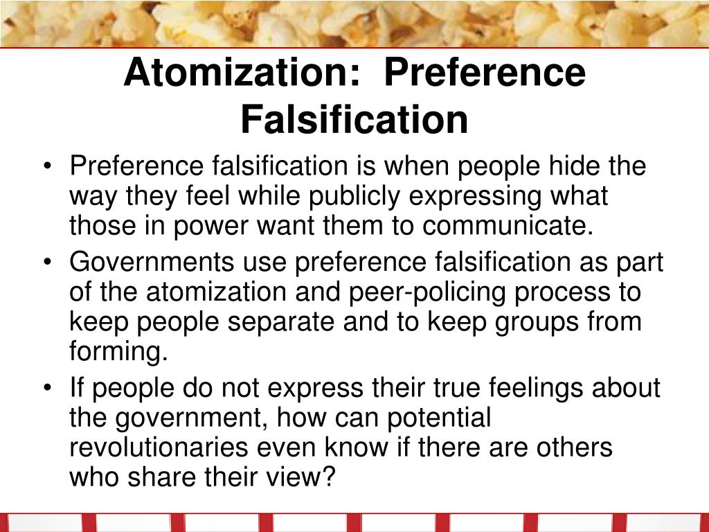 Atomization: