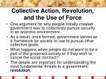 collective action revolution and the use of force