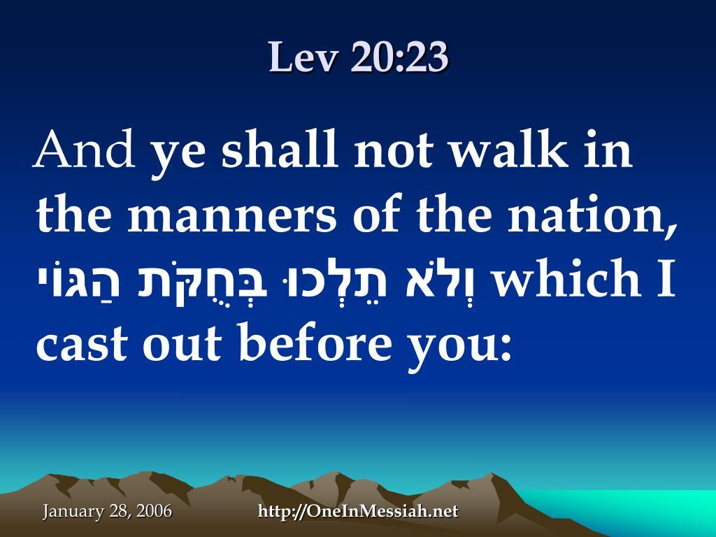 Lev 20:23