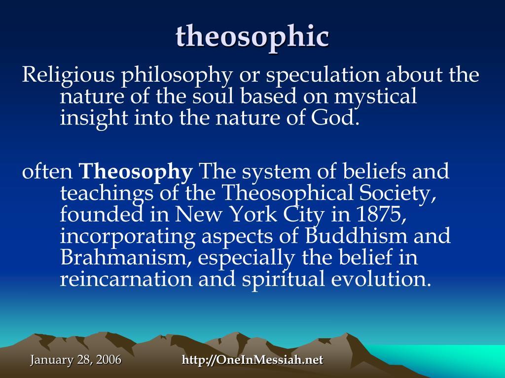 theosophic