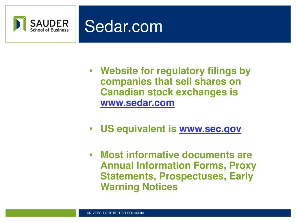 Sedar.com