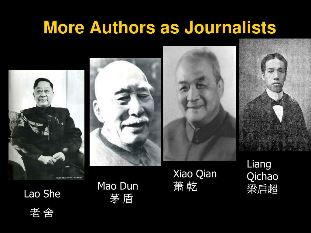 More Authors as Journalists