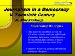 journalism in a democracy10