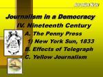 journalism in a democracy8
