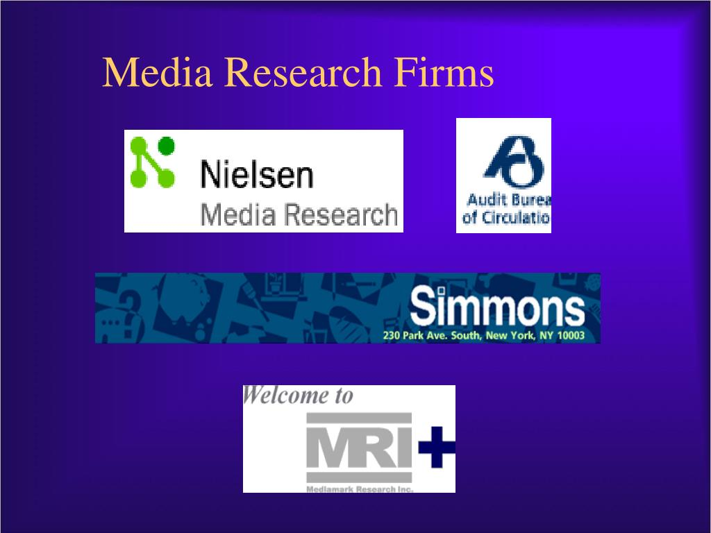 Media Research Firms