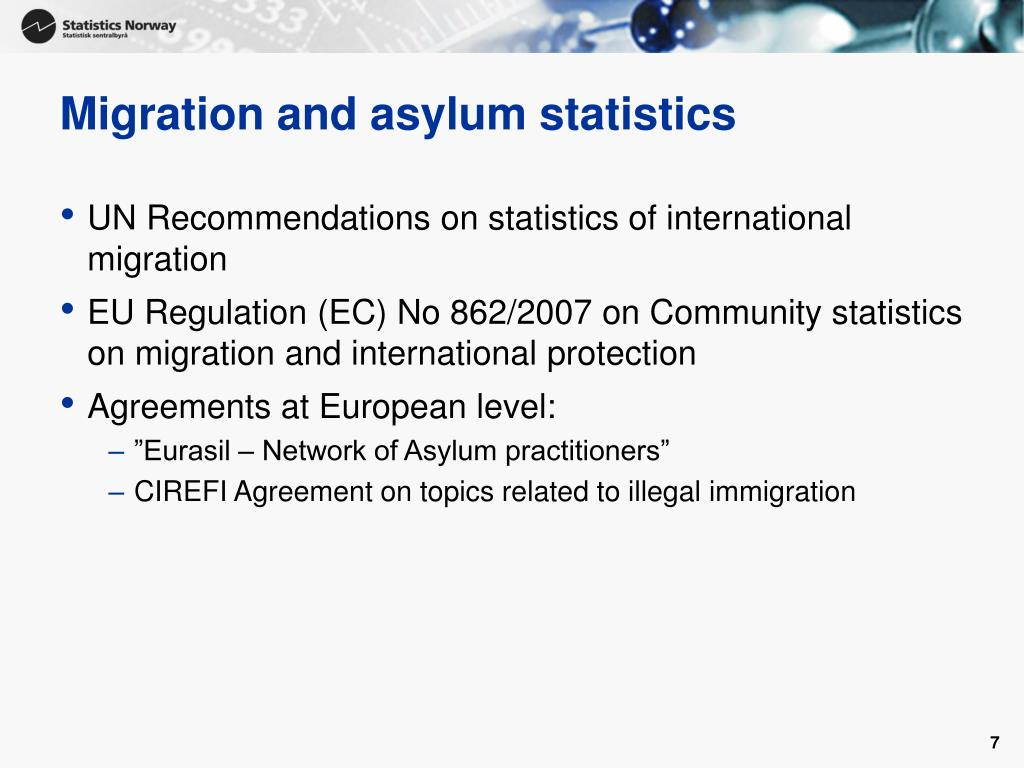 Migration and asylum statistics
