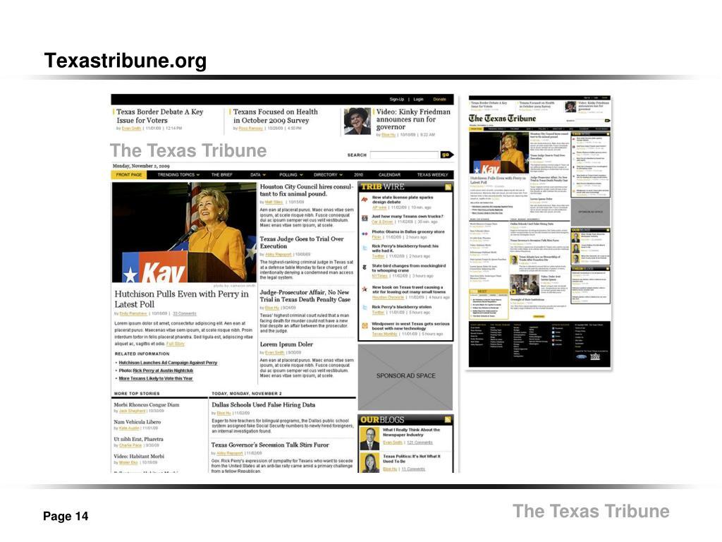 Texastribune.org