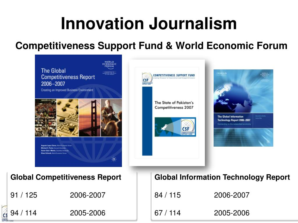 Innovation Journalism