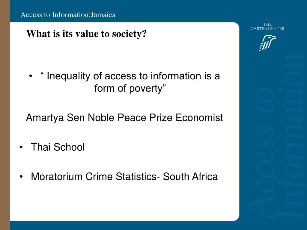 What is its value to society?