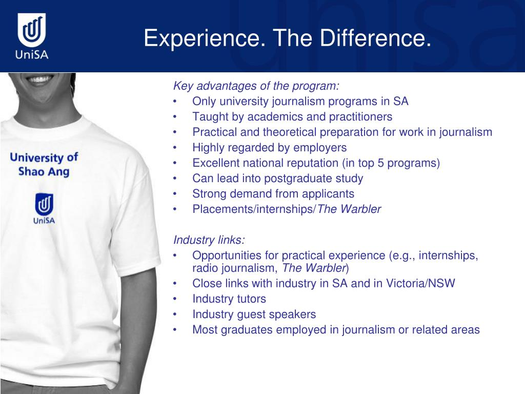 Experience. The Difference.